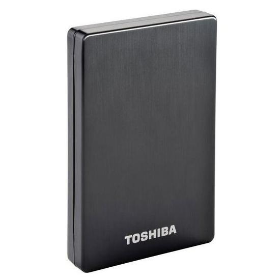 "Внешний портативный винчестер 2.5"" TOSHIBA STOR.E Alu 2S 1TB USB3.0 Black (PA4265E-1HJ0)"