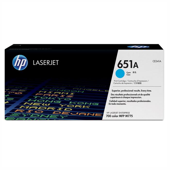 Тонер-картридж HP 651A Cyan (CE341A)