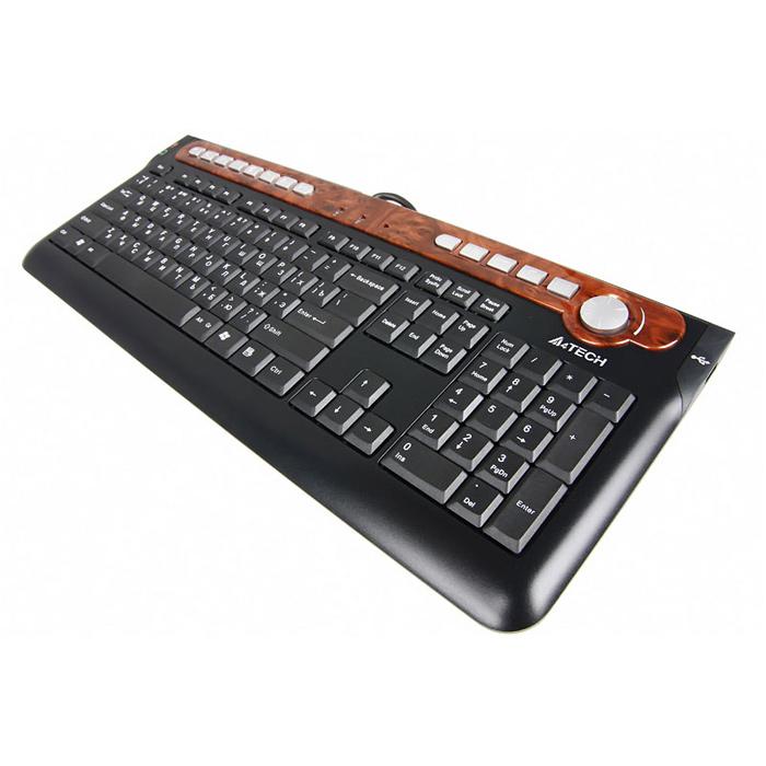 Клавіатура A4TECH KX-6MU Black