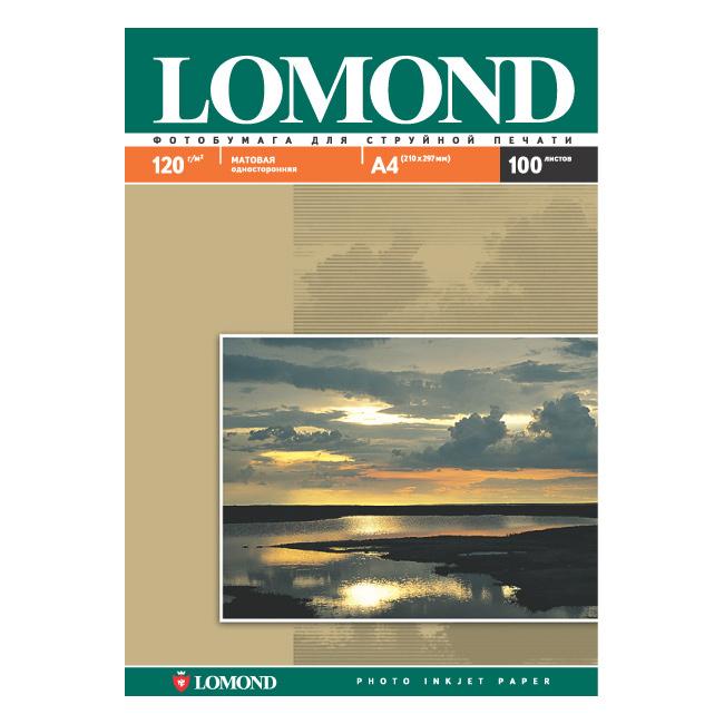 Фотопапір LOMOND A4 120г/м² 100л (0102003)