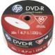 DVD+R HP Inkjet Printable 4.7GB 16x 50pcs/wrap (69304/DRE00070WIP-3)