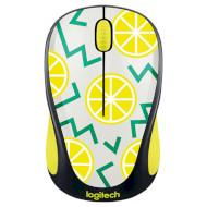 Мышь LOGITECH M238 Lemon