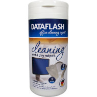 Салфетки чистящие для LCD/LED экранов DATA FLASH DF1511 Office Cleaner 100шт