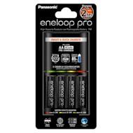 Зарядное устройство PANASONIC Eneloop Smart & Quick BQ-CC55 + Eneloop Pro 4 x AA 2500 mAh (K-KJ55HCD40E)