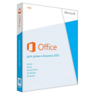 MICROSOFT Office Home and Business 2013 Russian 1 ПК DVD (T5D-01761)