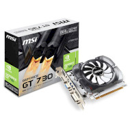Видеокарта MSI GeForce GT 730 2GB GDDR3 64-bit OC (N730K-2GD3/OCV1)