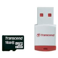 Карта памяти TRANSCEND microSDHC Premium 16GB Class 10 (TS16GUSDHC10-P3)