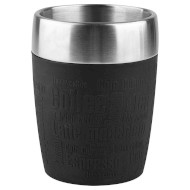 Термокружка TEFAL Travel Cup Silver/Black 0.2л