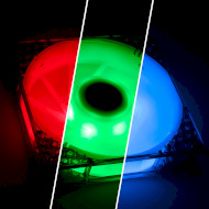 Вентилятор BITFENIX Spectre Pro RGB with Controller (BFF-SRGB-12025C-RP)