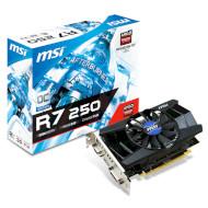 Видеокарта MSI Radeon R7 250 2GB GDDR3 128-bit OC (R7_250_2GD3_OCV1)