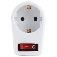 Розетка электрическая ENERGENIE EG-AC1S-01-W