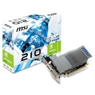 Видеокарта MSI GeForce 210 512MB GDDR3 64-bit Silent Turbo Cache LP (N210-TC1GD3H/LP)