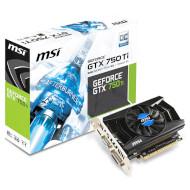 Видеокарта MSI GeForce GTX 750 Ti 2GB GDDR5 128-bit V1 OC (N750TI-2GD5/OCV1)
