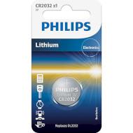 Батарейка PHILIPS Lithium CR2032 (CR2032/01B)