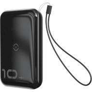 Портативное зарядное устройство BASEUS Mini S Bracket Black (10000mAh)