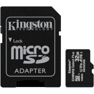 Карта памяти KINGSTON microSDHC Canvas Select Plus 32GB UHS-I V10 A1 Class 10 + SD-adapter (SDCS2/32GB)