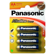 Батарейка PANASONIC Alkaline Power AA 4 шт./уп. (LR6REB/4BPR)