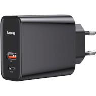 Сетевое зарядное устройство BASEUS Adaptor Speed PPS Black