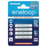 Аккумулятор PANASONIC Eneloop AAA 750мАч 4шт/уп (BK-4MCCE/4BE)
