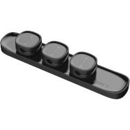 Тримач кабелю BASEUS Peas Cable Clip Black (ACWDJ-01)