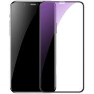 Защитное стекло BASEUS Full-Screen and Full-Glass with Anti-Blue Light для iPhone X/XS/11 Pro Black
