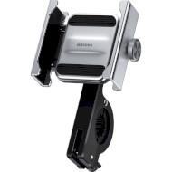 Велодержатель для смартфона BASEUS Knight Motorcycle Holder Silver (CRJBZ-0S)