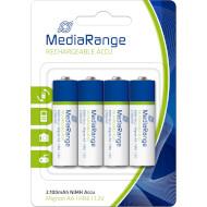 Аккумулятор MEDIARANGE Rechargeable AA 2100мАч 4шт/уп (MRBAT121)