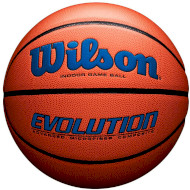 Мяч баскетбольный WILSON Evolution Royal Size 7 (WTB0595XB0704)