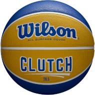 Мяч баскетбольный WILSON Clutch Yellow/Blue Size 6 (WTB14198XB06)