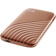 Портативный SSD WD My Passport 2020 2TB Rose Gold (WDBAGF0020BGD-WESN)