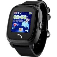 Часы-телефон детские GOGPS K25 Black (K25BK)