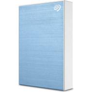 Портативный жёсткий диск SEAGATE One Touch 5TB USB3.2 Light Blue (STKC5000402)