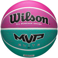 Мяч баскетбольный WILSON MVP Elite Pink/Green Size 6 (WTB1463XB06)
