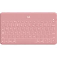Клавиатура беспроводная LOGITECH Keys-To-Go RU Blush Pink (920-010122)
