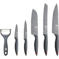 Набор кухонных ножей BERGNER Grafito 6пр