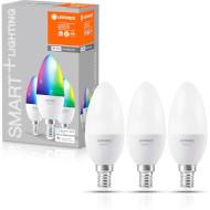 Набор умных ламп OSRAM Smart+ Classic Multicolor E14 5Вт 2700-6500K 3шт (4058075485938)