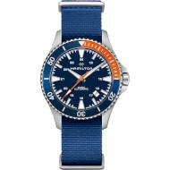 Часы HAMILTON Khaki Navy Scuba Automatic 40mm Blue Dial (H82365941)