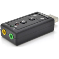 Внешняя звуковая карта VOLTRONIC USB-Sound Card (7.1) 3D Sound (YT-SC-7.1/7)