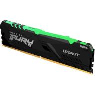 Модуль памяти KINGSTON FURY Beast RGB DDR4 3000MHz 8GB (KF430C15BBA/8)