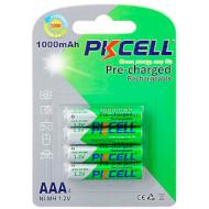 Аккумулятор PKCELL Pre-charged Rechargeable AAA 1000mAh 4шт/уп (2000000093239)