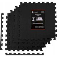 Мат-пазл (ласточкин хвіст) SPRINGOS Mat Puzzle Black (FM0002)