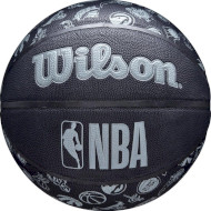 М'яч баскетбольний WILSON NBA All Team Matte Size 7 (WTB1300XBNBA)