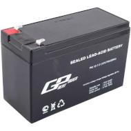 Акумуляторна батарея GREAT POWER PG 12-7.0 (12В 7Ач)