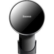 Автотримач для смартфона з бездротовою зарядкою BASEUS Big Energy Car Mount Black (WXJN-01)