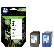 Набор картриджей HP 21/22 Dual Pack Black+Color (SD367AE)
