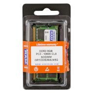 Модуль памяти GOODRAM SO-DIMM DDR3 1333MHz 8GB (GR1333S364L9/8G)