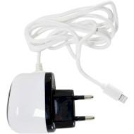 Сетевое зарядное устройство POWERPLANT 1A Lightning для iPhone