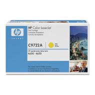 Тонер-картридж HP C9722A Yellow
