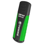 Флэшка TRANSCEND JetFlash 810 64GB Black/Green