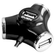 USB хаб SVEN HB-012 4-Port (07700005)